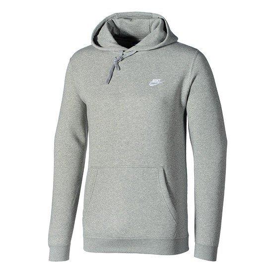 Nike Hoodie Sportswear Swoosh Grau