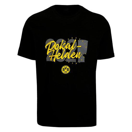 Puma Borussia Dortmund T-Shirt DFB Pokalsieger 2021 Kinder