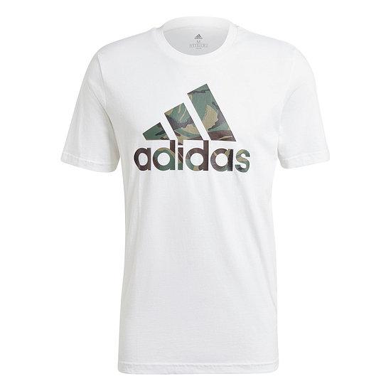 Adidas T-Shirt CAMO 3S Weiß