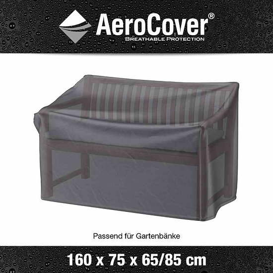 Aero Cover Schutzhülle 3-Sitzer 160x75x65/85 cm anthrazit