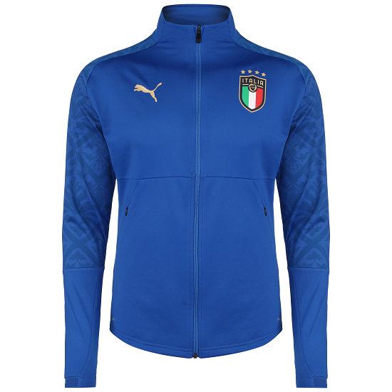 Puma Italien Heim Track Jacket EM 2021 Blau