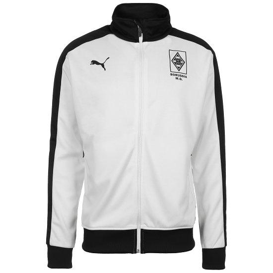 Puma Borussia Mönchengladbach Trainingsjacke T7 2020/2021 Weiß