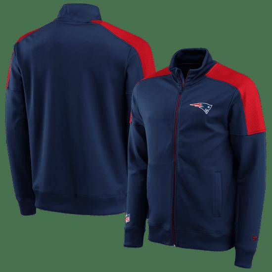 Fanatics New England Patriots Trackjacket Back To Basic navy