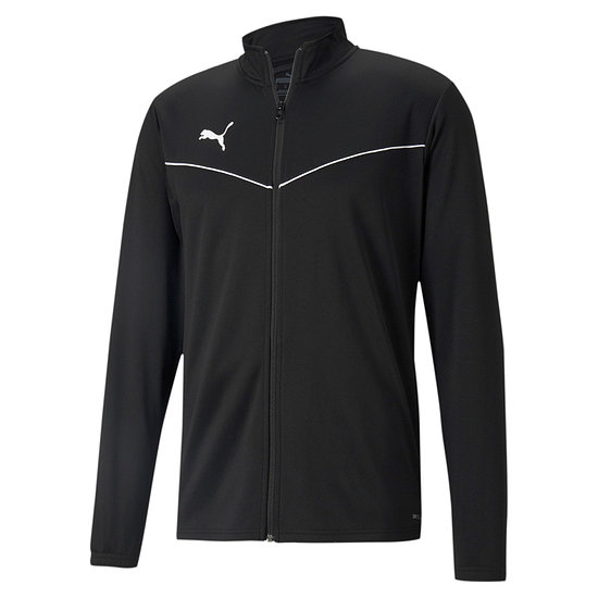 Puma Trainingsjacke TEAM RISE Schwarz