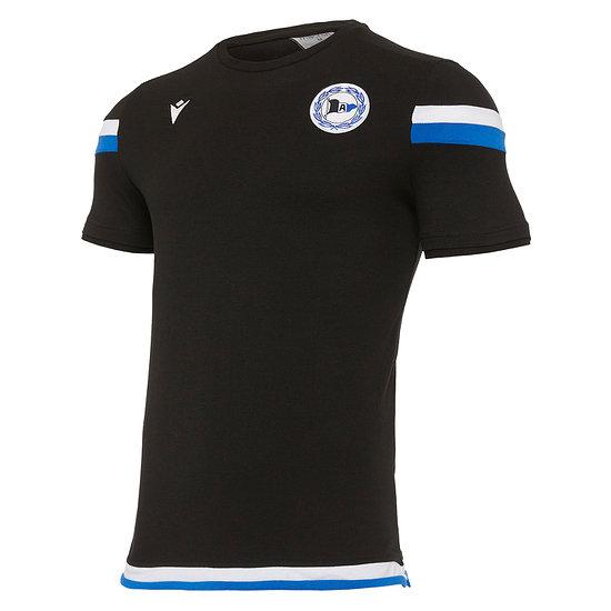 Macron Arminia Bielefeld T-Shirt 2020/2021 schwarz/weiß/royal