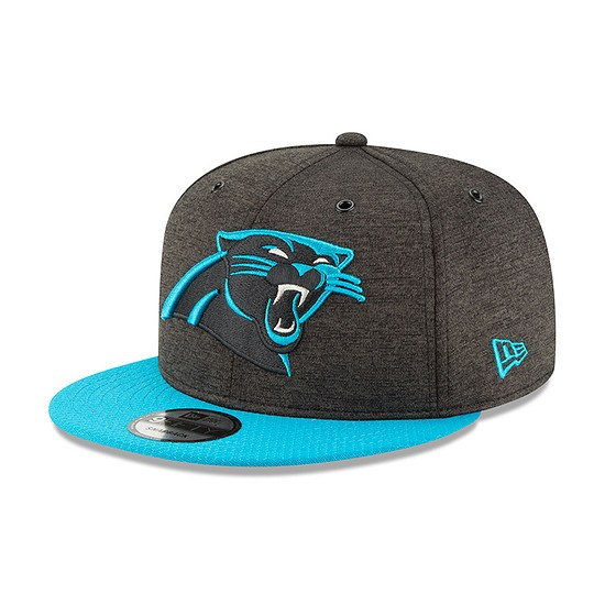 New Era Carolina Panthers Cap 9FIFTY Sideline blau
