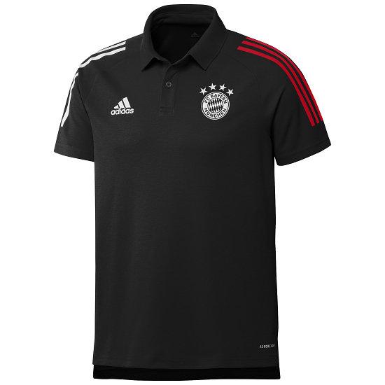 Adidas FC Bayern München Polo Shirt 2020/2021 Schwarz