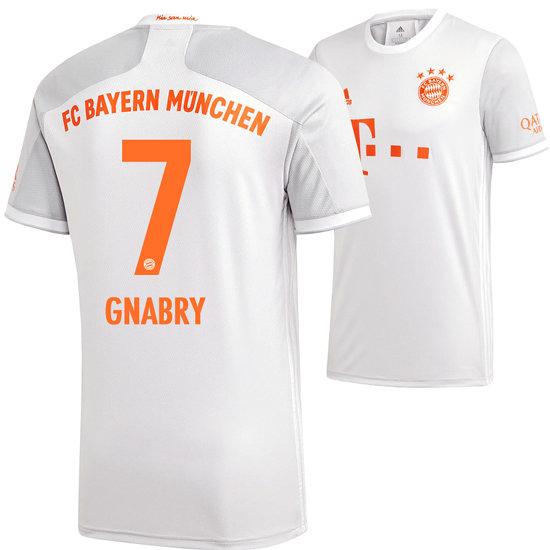 Adidas FC Bayern München Auswärts Trikot GNABRY 2020/2021 Kinder