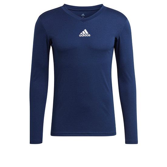 Adidas Trainingsshirt Langarm Team Base Blau