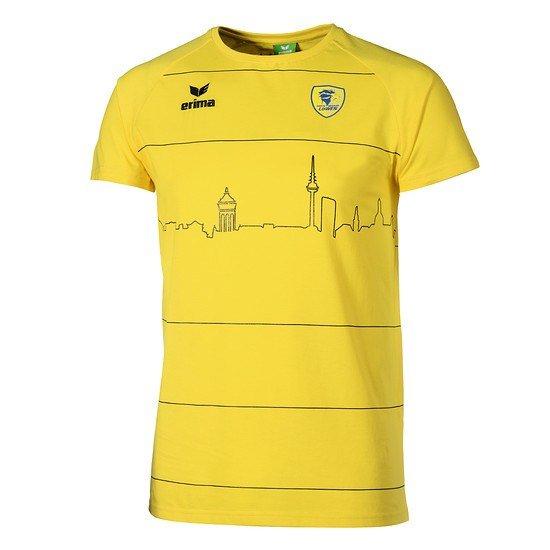 Erima Rhein-Neckar Löwen T-Shirt Team gelb