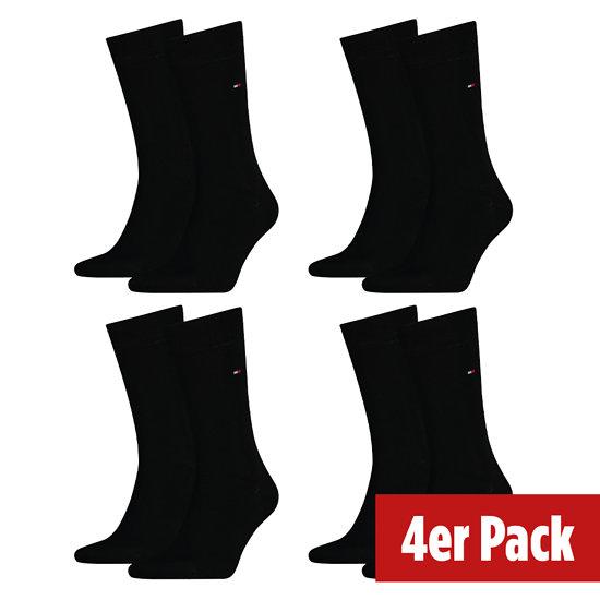 Tommy Hilfiger Socken 4er Pack CLASSIC Schwarz