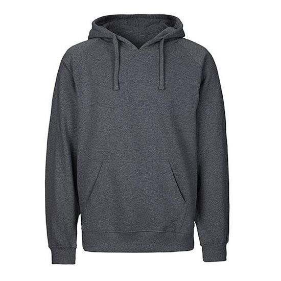 Neutral Hoodie Basic Bio-Baumwolle grau