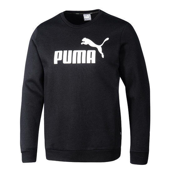 Puma Sweatshirt ESS Logo Crew schwarz