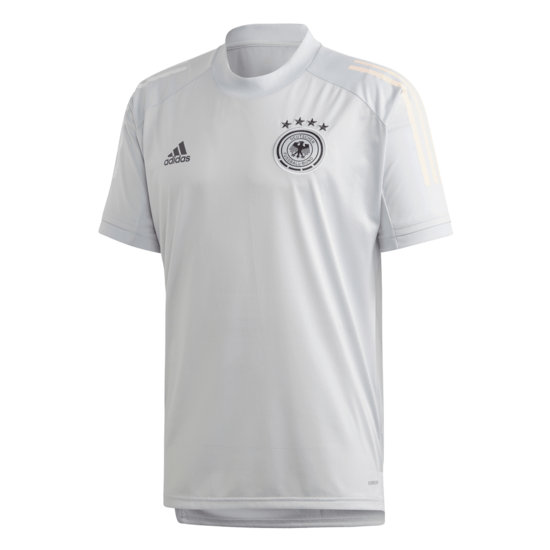 Adidas Deutschland DFB Training-Shirt EM 2021 Grau