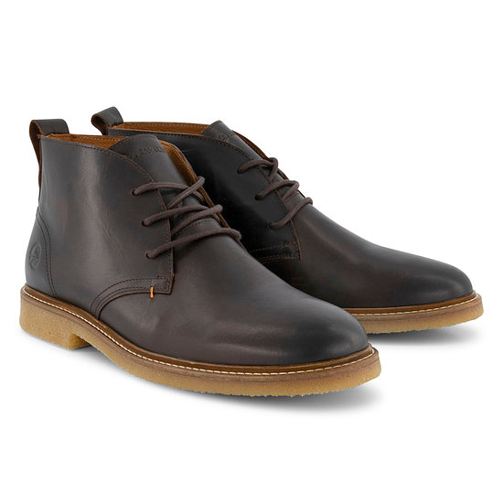 TRAVELIN OUTDOOR Boot Glasgow Leather dunkelbraun