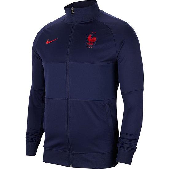 Nike Frankreich Track Jacket EM 2021 Blau