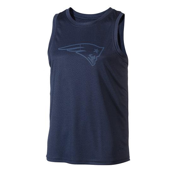 New Era New England Patriots Tanktop Tonal Logo blau