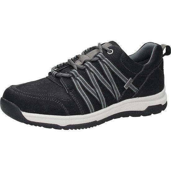 BAMA Sneaker Lederimitat schwarz
