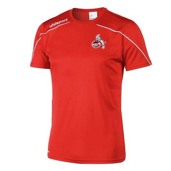 uhlsport 1. FC Köln Trainingsshirt Sprint Kinder rot/weiß