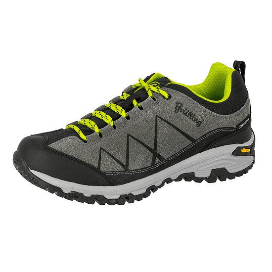 Brütting Outdoor Schuh Kansas anthrazit/schwarz/lemon
