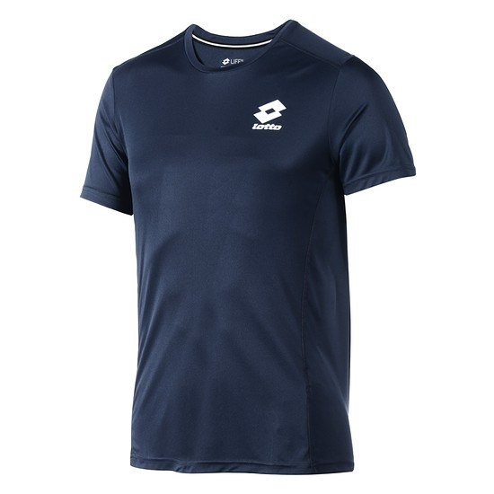 Lotto T-Shirt Smart Logo small navy/weiß
