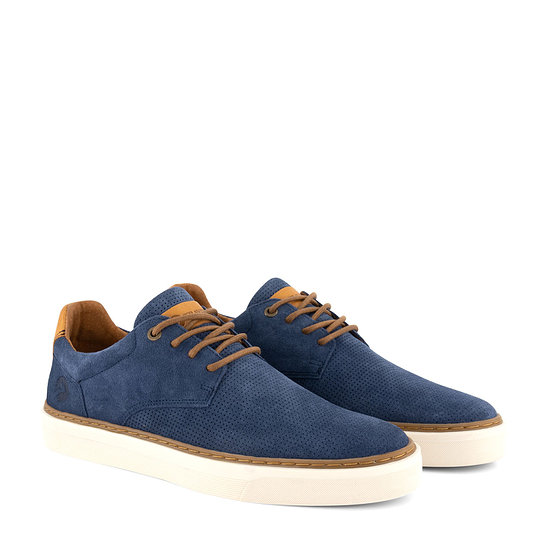 TRAVELIN OUTDOOR Sneaker Chetton blau
