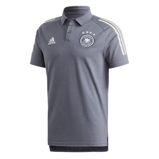 Adidas Deutschland DFB Poloshirt EM 2021 Dunkelgrau