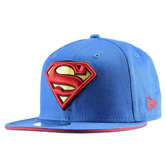 New Era Cap Superman Snapback Classic schwarz
