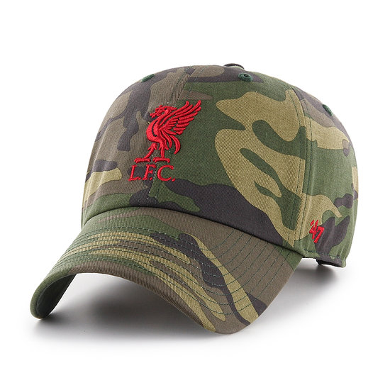 47 Brand FC Liverpool Cap Camo grün