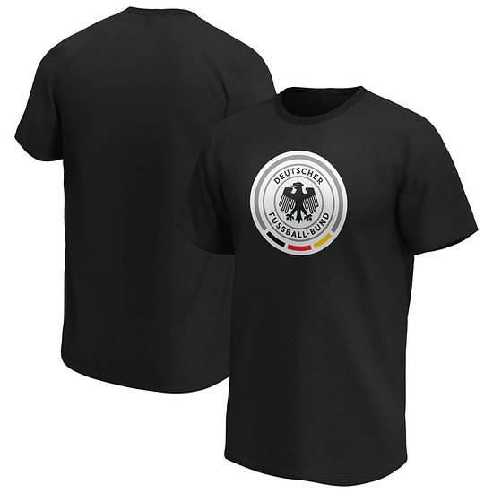 Fanatics DFB T-Shirt Iconic Primary Logo Graphic schwarz