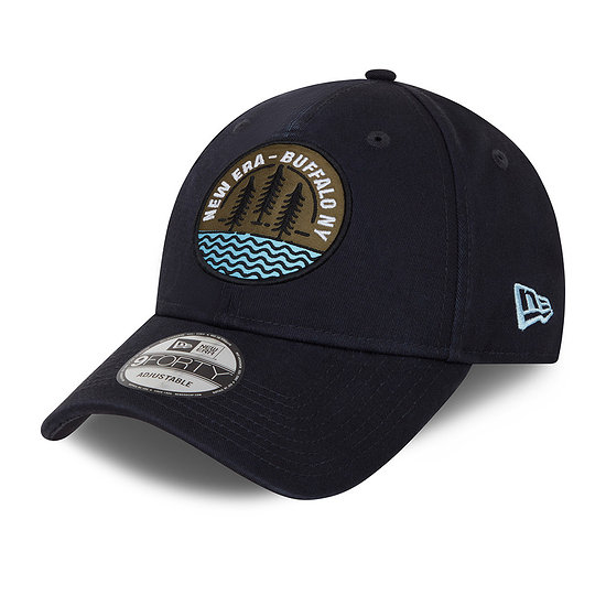 New Era Cap Camp Patch 9FORTY navy