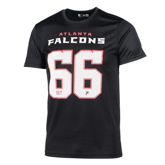 New Era Atlanta Falcons T-Shirt Supporters schwarz