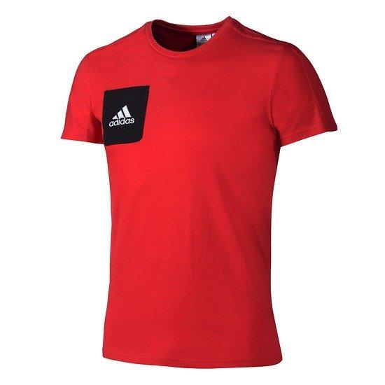 Adidas T-Shirt Tiro Rot