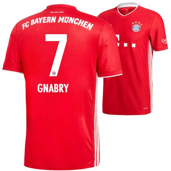 Adidas FC Bayern München Heim Trikot GNABRY 2020/2021 Kinder