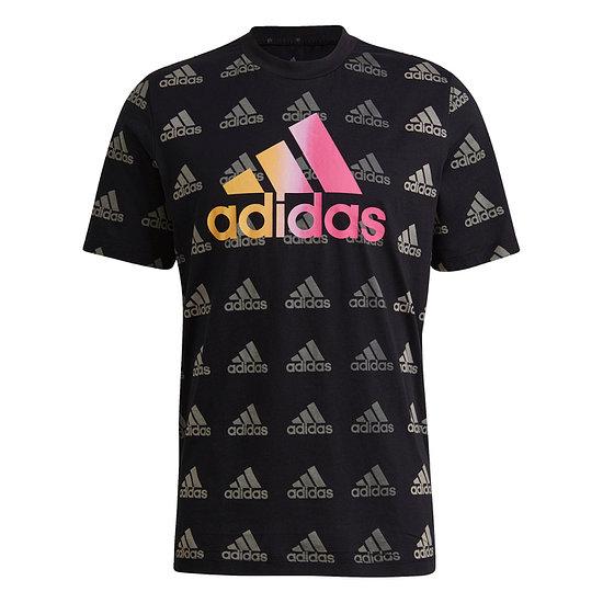 Adidas T-Shirt FAVORITES Schwarz
