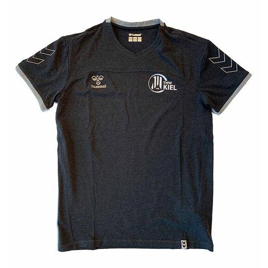 hummel THW Kiel T-Shirt Fan schwarz