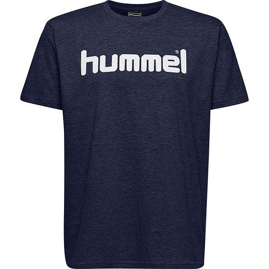 hummel T-Shirt Go Cotton Logo marine