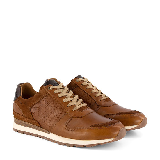 TRAVELIN OUTDOOR Sneaker Worcester cognac