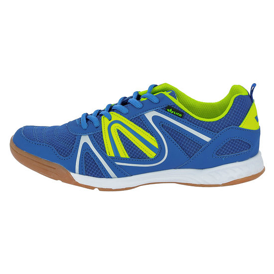 Lico Indoorschuh Fit Indoor blau/lemon