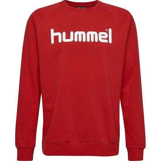 hummel Sweatshirt Go Cotton Logo rot