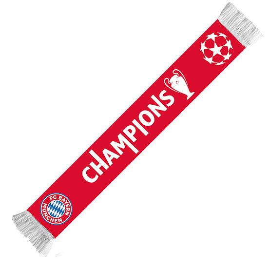 FC Bayern München Schal CHAMPIONS 2020 Rot