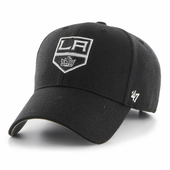 47 Brand Los Angeles Kings Cap Audible MVP DP schwarz