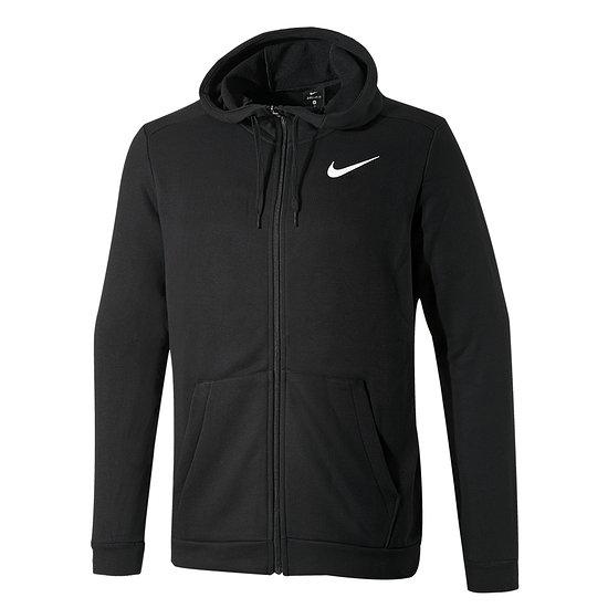 Nike Kapuzensweatjacke Dri-Fit Schwarz