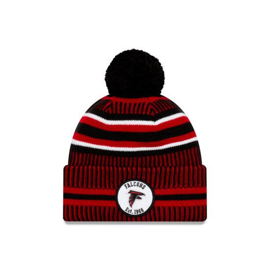 New Era Atlanta Falcons Beanie On Field Sport Knit HM schwarz