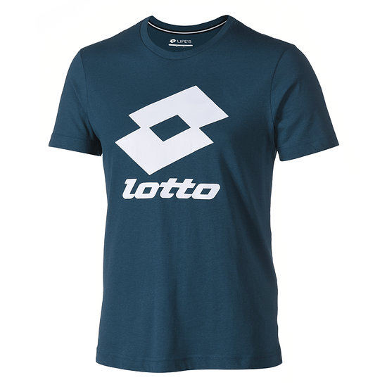 Lotto T-Shirt Smart Logo opal