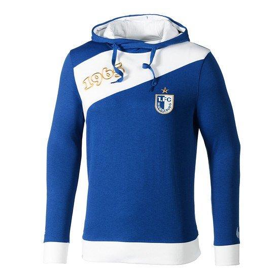 uhlsport 1. FC Magdeburg Hoodie blau/weiß