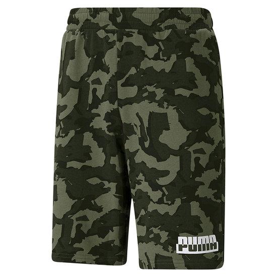 Puma Shorts CORE CAMO Oliv