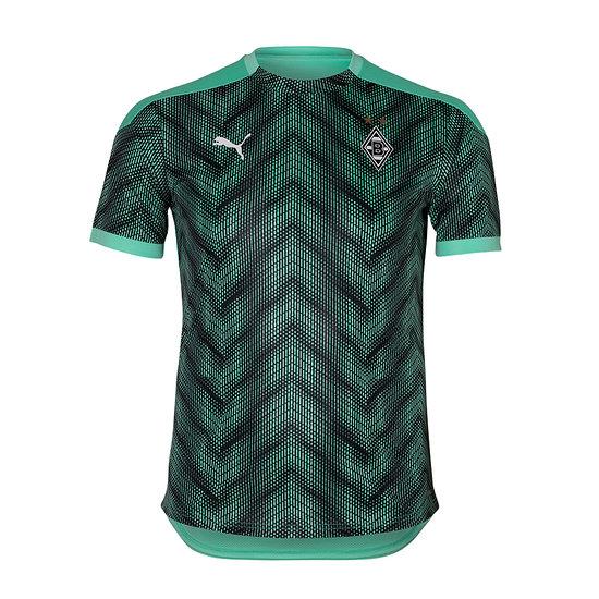 Puma Borussia Mönchengladbach T-Shirt Stadion 2020/2021 Kinder Grün