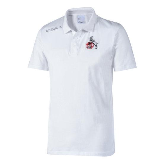 uhlsport 1. FC Köln Poloshirt Essential weiß