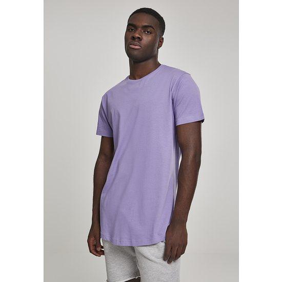 URBAN CLASSICS T-Shirt Shaped Long lavendel